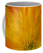 Sunrise Dahlia Abstract Coffee Mug