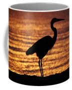 Sunrise Heron Coffee Mug