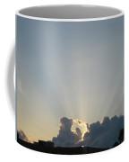 Sunrise With Sunbeams Coffee Mug