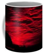 Sunrise In Red Coffee Mug