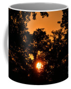 Sunrise In The Forest Coffee Mug