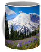 Sunrise Lupines Coffee Mug