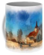 Sunrise On A Rural Church 03 Coffee Mug