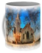 Sunrise On A Rural Church 04 Coffee Mug
