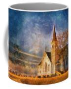 Sunrise On A Rural Church 13 Coffee Mug