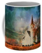 Sunrise On A Rural Church 18 Coffee Mug