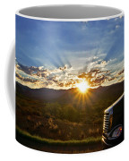 Sunrise On A Traffic Jam Coffee Mug