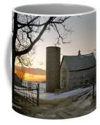 Sunrise On Birch Coffee Mug