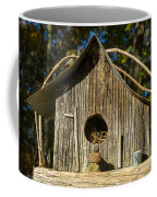 Sunrise On Birdhouse Homestead Coffee Mug