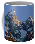 1m9333-h-sunrise On Grand Teton Coffee Mug