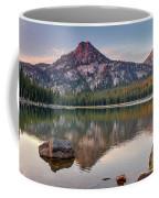 Sunrise On Gunsight Mountain Coffee Mug by Robert Bales