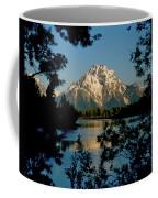 Sunrise On Mount Moran Coffee Mug