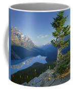 1m3608-sunrise On Peyto Lake Coffee Mug