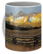 Sunrise On Sawtooth Mountains Idaho Coffee Mug
