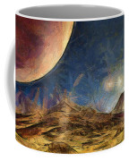 Sunrise On Space Coffee Mug