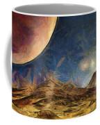 Sunrise On Space Coffee Mug