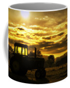 Sunrise On The Deere Coffee Mug