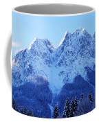 Sunrise On The Alps Coffee Mug