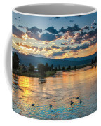 Sunrise On The North Payette River Coffee Mug