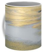Sunrise On The River Ice Coffee Mug