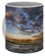 Sunrise On Yellowstone Lake Coffee Mug