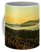 Sunrise Over Bellingham Bay Coffee Mug