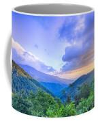 Sunrise Over Blue Ridge Mountains Scenic Overlook  Coffee Mug