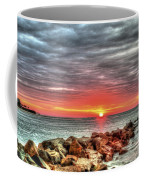 Sunrise Over Breech Inlet On Sullivan's Island Sc Coffee Mug