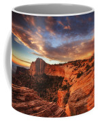 Sunrise Over Canyonlands Coffee Mug by Darren  White