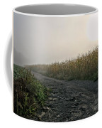 Sunrise Over Country Road Coffee Mug by Olivier Le Queinec