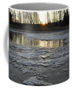 Sunrise Over Ice Coffee Mug