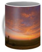 Sunrise Over Prairies Coffee Mug
