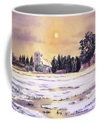 Sunrise Over St Botolph's Church Coffee Mug by Bill Holkham