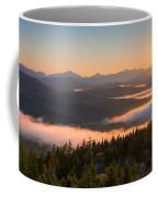 Sunrise Over The Adirondack High Peaks Coffee Mug