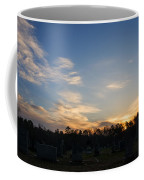 Sunrise Over The Cemetary Coffee Mug