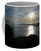 Sunrise Over The Golden Gate Coffee Mug