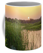 Sunrise Over The Marsh Coffee Mug