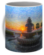 Sunrise Over The Pineapple Coffee Mug