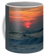 Sunrise Over Waves Coffee Mug