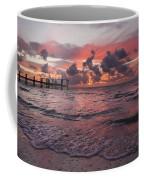 Sunrise Panoramic Coffee Mug by Adam Romanowicz