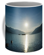 Sunrise Reflected Over An Alpine Lake Coffee Mug