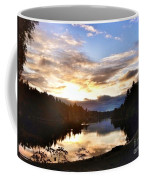 Sunrise River Mirror Coffee Mug