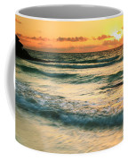 Sunrise Seascape Tulum Mexico Coffee Mug