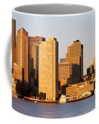 Sunrise, Skyline, Boston Coffee Mug