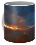 Sunrise Storm North Rim Grand Canyon Arizona Coffee Mug