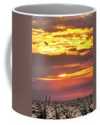 Sunrise Through The Grass Coffee Mug