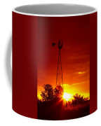 Sunrise Windmill 1 A Coffee Mug