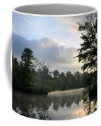 Sunrise With A Jet Trail Coffee Mug