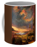 Sunrise With Birds  Coffee Mug