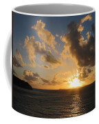Sunrise With Clouds St. Martin Coffee Mug